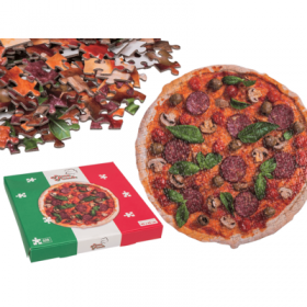 Jigsaw puzzle -Pizza