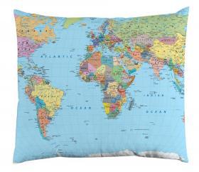 Örngott -Världskarta