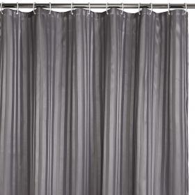 Duschdraperi 180x200 cm (grå)