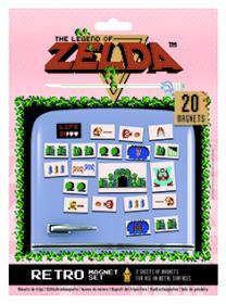 Magneter i 20-pack -ZELDA