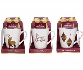Presentset -Mugg & varm choklad