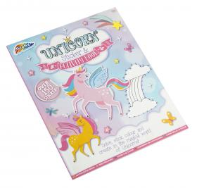 Pysselbok -Unicorn