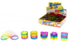 Trappspiral -Regnbåge