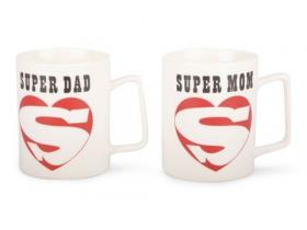 Mugg -SUPER MOM/ SUPER DAD