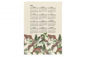 Kökshandduk med kalender 2022