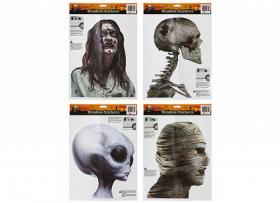 Klistermärke till fönster -Halloween