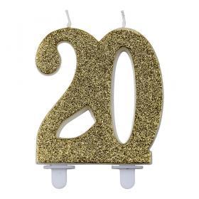 Tårtljus 20 år