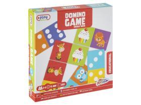 Dubbelsidigt Dominospel