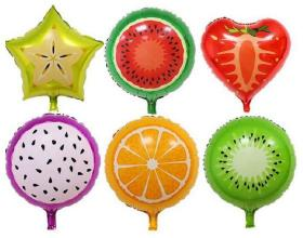 Folie ballong 45cm -Fruity