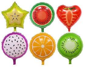 Folieballong 45cm -Fruity