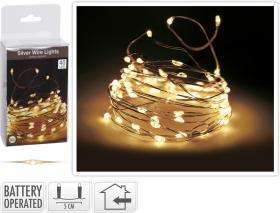 Ljusslinga/tråd 40 LED