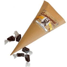 Strut med chokladkola