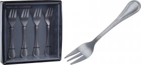 Dessertgafflar 4-pack (silver)