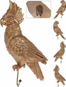 Väggkrok -Papegoja