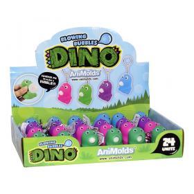 Nyckelring -Bubbelblåsande Dino