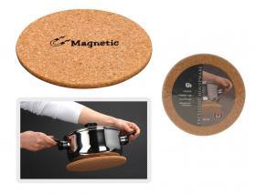 Korkunderlägg med magnet
