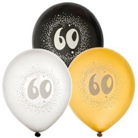 """Ballonger i 6-pack """"60"""""""
