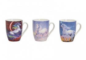 Porslinsmugg -Magisk Unicorn