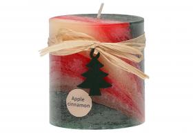 Doftljus - Äpple/kanel (7 cm)