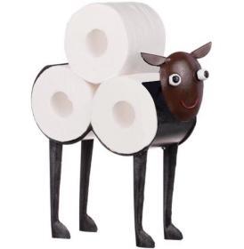Toalettpappershållare i smide -Får