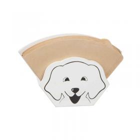 Kaffefilterhållare -hund