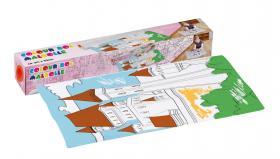 Färgläggningsrulle 3m x 50cm