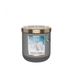 Doftljus Fresh Linen (Fräscha sänglinnen) 115g