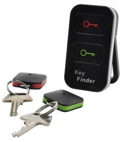Nyckelsökare med två nyckelringar