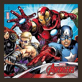 Servetter i 20-pack -Avengers