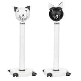 Hushållspappershållare -katt