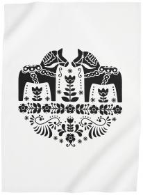 Kökshandduk -Dalahäst