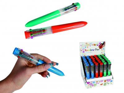 penna med olika färger