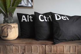 Örngott 3-pack Ctrl Alt Del