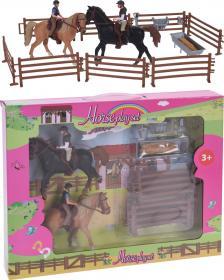 Lekset hästar