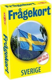 Kortspel -Frågekort Sverige