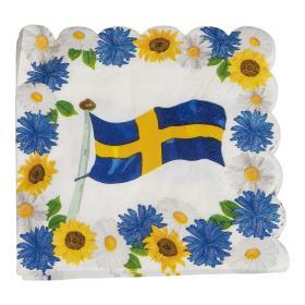 Servetter i 16-pack -Sverige