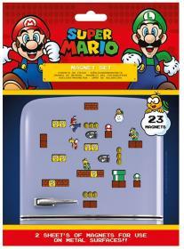 Magneter i 23-pack -SUPER MARIO