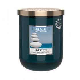 Doftljus Simply Spa (söt viol & Ylang Ylang) 340 g