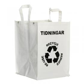 Recycle bag -Tidningar (vit)