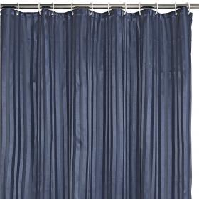 Duschdraperi 180x200 cm (marinblå)
