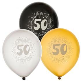 """Ballonger i 6-pack """"50"""""""