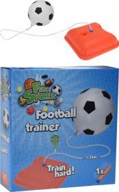 Fotbollsträning med gummiband
