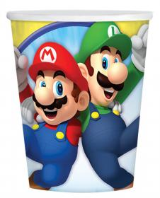 Pappersmugg i 8-pack -SUPER MARIO