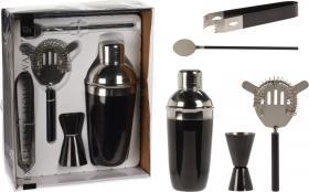 Cocktailshaker set (Svart)