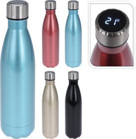 Vattenflaska med temperaturvisning