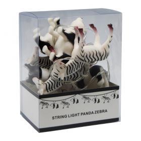 Ljusslinga LED -Zebror/Pandor