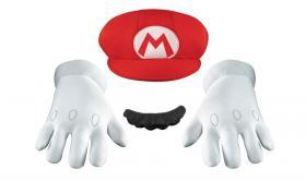 Maskeradkläder Mario (vuxen)