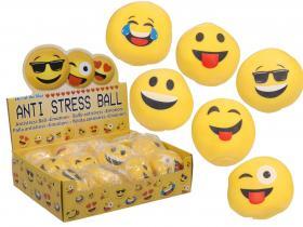 Antistressboll -emojis