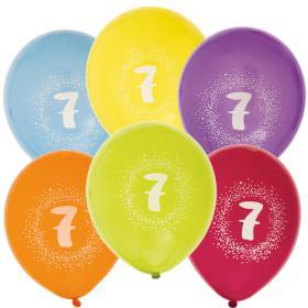 """Ballonger i 6-pack """"7"""""""