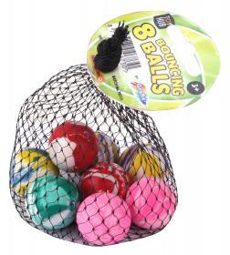 Studsbollar i 8-pack